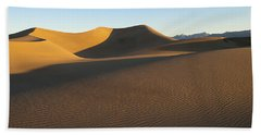Beach Towel featuring the photograph Morning Shadows by Joe Schofield