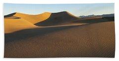 Morning Shadows Beach Sheet by Joe Schofield