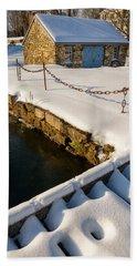 Morning Snow Beach Sheet