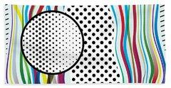Morris Like Pop Art Beach Sheet