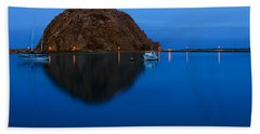 Morro Bay Calm Morning Beach Towel