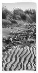 Morro Beach Textures Bw Beach Sheet