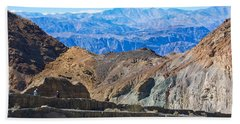 Beach Towel featuring the photograph Mosaic Canyon Picnic by Stuart Litoff