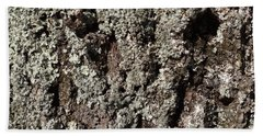 Beach Sheet featuring the photograph Moss And Lichens by Jason Williamson