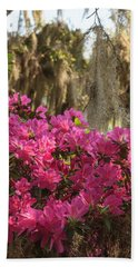 Moss Over Azaleas Beach Towel