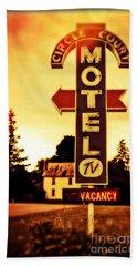 Motel Hell Beach Towel
