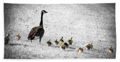 Mother Goose Beach Towel by Elena Elisseeva