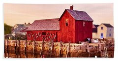 Motif Number One Rockport Massachusetts  Beach Sheet