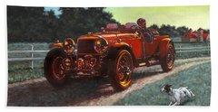 Motor Car Beach Sheet
