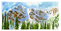 Mount Ogden Beach Towel