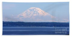 Mount Rainier Beach Sheet