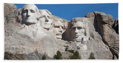 Mount Rushmore Beach Sheet