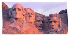 Mount Rushmore, South Dakota, Usa Beach Sheet by Panoramic Images