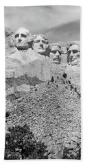Mount Rushmore South Dakota Usa Beach Towel