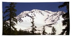 Mount Shasta Beach Towel