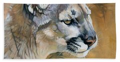Mountain Lion Beach Towel