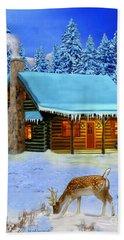 Mountain Man's Wilderness Beach Towel by Glenn Holbrook