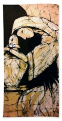Mourning Angel Beach Towel