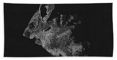 Mouse Beach Towel by Lawrence Tripoli