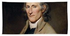 Mr. Francis Bailey, 1791 Oil On Canvas Pair To 403022 Beach Towel
