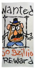 Beach Sheet featuring the photograph Mr. Potato Head Gone Bad by Robert Meanor