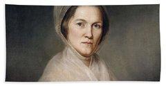 Mrs. Francis Bailey, 1791 Oil On Canvas Pair To 403021 Beach Towel