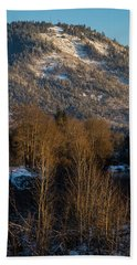 Mt Baldy Near Grants Pass Beach Towel by Mick Anderson