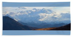 Beach Towel featuring the photograph Mt. Denali by Ann Lauwers