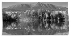 Mt Katahdin Baxter State Park Fall Beach Towel