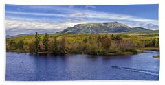 Mt Katahdin Hdr Beach Sheet