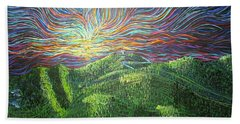 Mt. Mitchell  Beach Towel