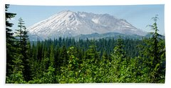 Mt. St. Hellens Beach Towel