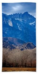 Mt. Whitney And Alabama Hills Beach Towel