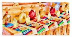 Mucho Tequila Beach Sheet by Teresa Zieba
