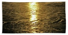 Beach Towel featuring the photograph Muddy Reflection by Jeremy Rhoades