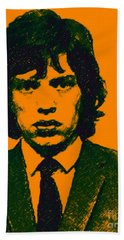 Mugshot Mick Jagger P0 Beach Sheet