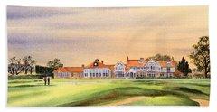 Muirfield Golf Course 18th Green Beach Sheet