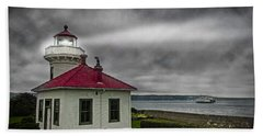 Mukilteo Lighthouse Beach Towel