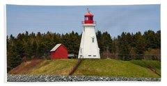 Mulholland Lighthouse Campobello Nb Beach Towel