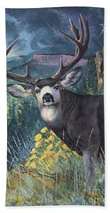 Mulie Storm Beach Towel