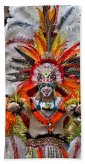 Mummer Wow Beach Towel by Alice Gipson