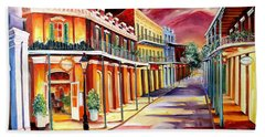 Muriel's In The French Quarter Beach Towel