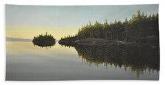 Muskoka Solitude Beach Towel