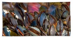 Mussels Underwater Beach Towel
