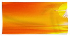 Mute Sunset Beach Towel