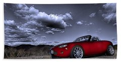 Mx 5 Beach Towel by Jason Abando