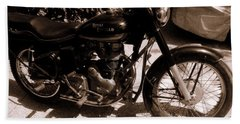 Royal Enfield Bullet 350 Beach Towel