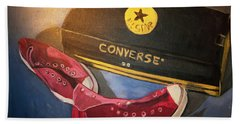 My Chucks - Pink Converse Chuck Taylor All Star - Still Life Painting - Ai P. Nilson Beach Towel