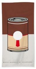 My Mario Warhols Minimal Can Poster-donkey Kong Beach Towel