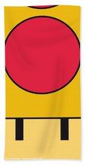 My Mariobros Fig 05c Minimal Poster Beach Towel